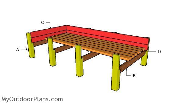 Building a cedar raised garden bed