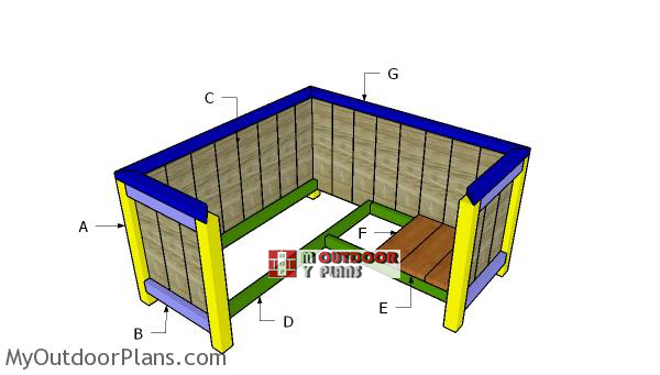 Building-a-corner-planter