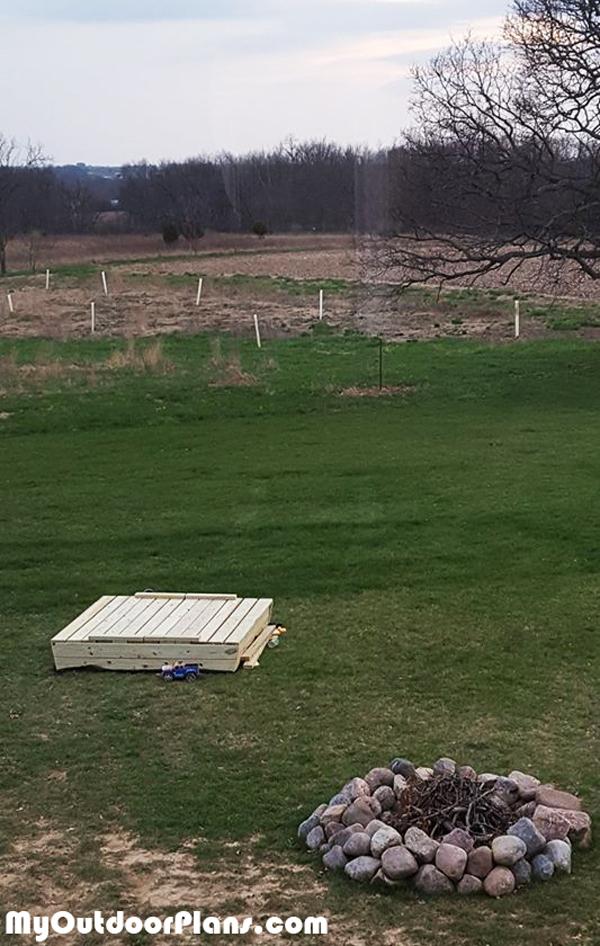 Building-a-covered-sandbox