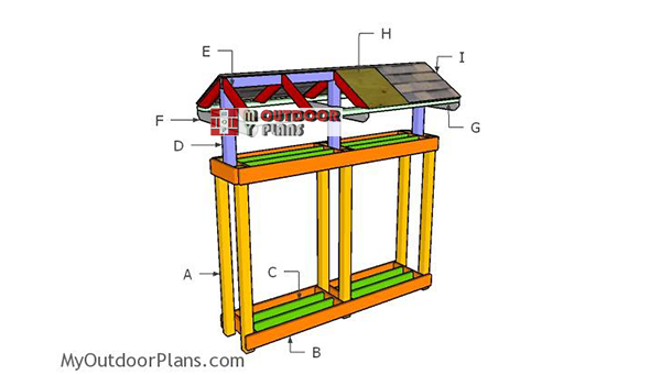 Building-a-firewood-stand