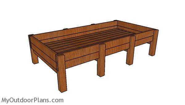 Cedar Raised Garden Bed Plans