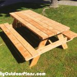 6 foot Picnic Table
