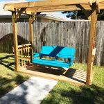 DIY Arbor Swing