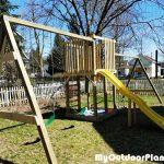 DIY Outdoor Swing Set