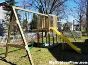 DIY Outdoor Swing Set