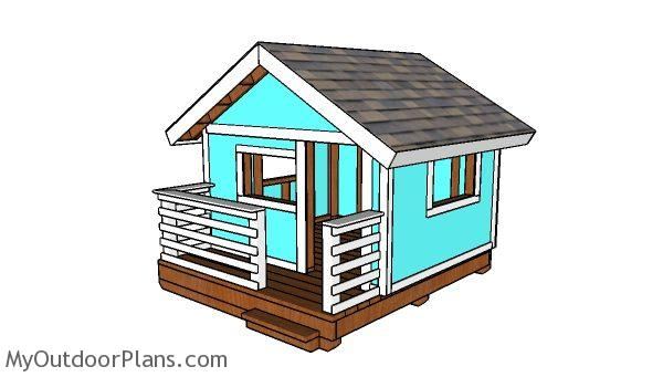 DIY Playhouse Plans