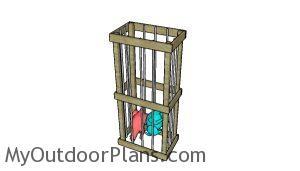 DIY Suffed animal storage cage
