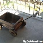 DIY Wagon Planter