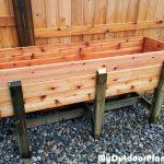 DIY Waist High Raised Garden Bed