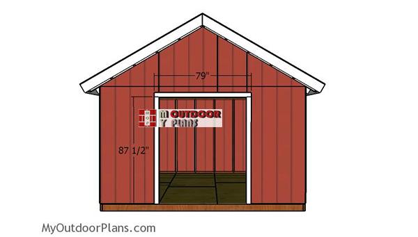 Double-door-jambs-14x14-shed