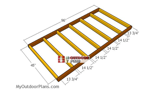 Floor-frame-4x8