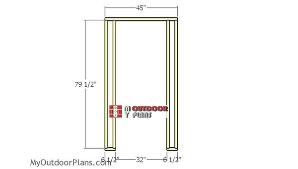 Front-wall-frame