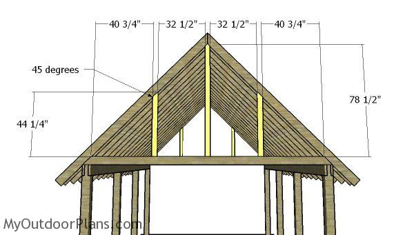 16x22 Carport Gable Roof Plans Myoutdoorplans Free