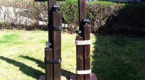 DIY Nautical Lamp Post