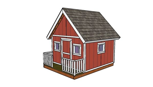 playhouse building plans myoutdoorplans free