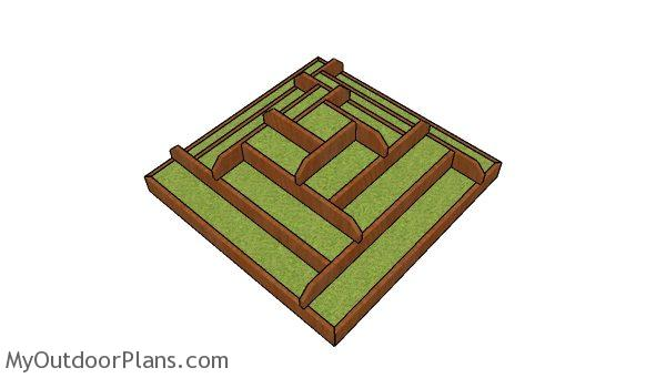 Strawberry tiered planter plans