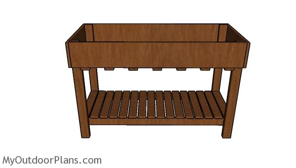 Counter Height Garden Box Plans
