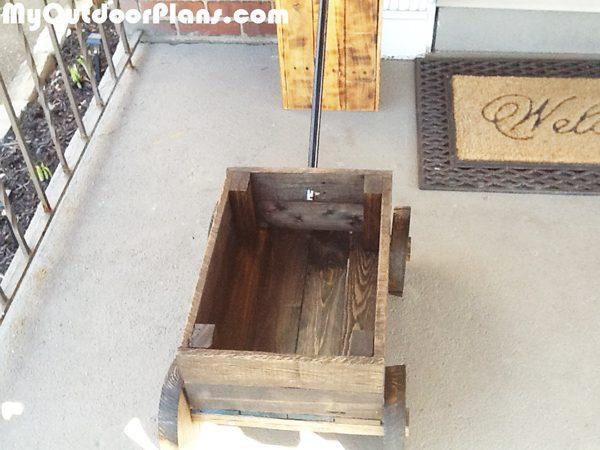 Wood-planter
