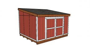 12×14 Lean to Shed Plans