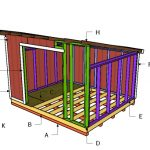 12×20 Lean to Shed Roof Plans