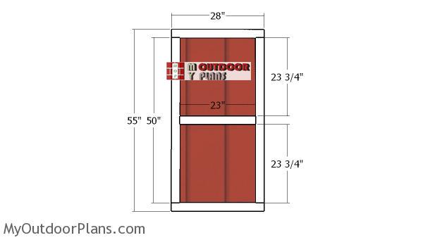 Building-a-playhouse-door