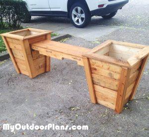 DIY-Double-Planter-Bench