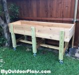 DIY Waist high Garden Bed
