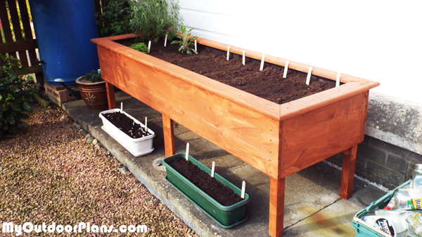DIY Raised Planter