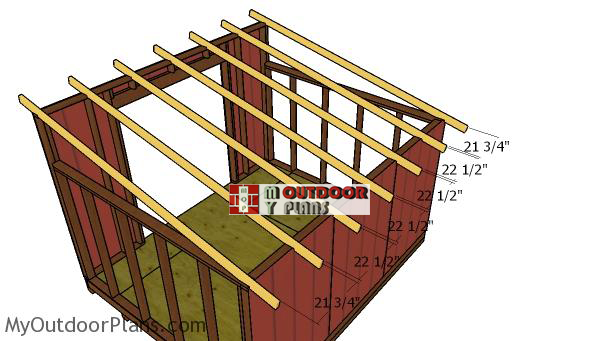 Fitting-the-shed-rafters