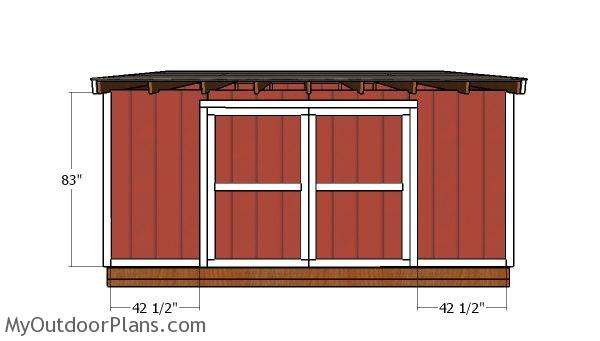 Front wall trims
