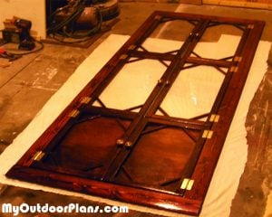 Painting-the-cabinet
