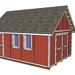 14×20 Shed Plans