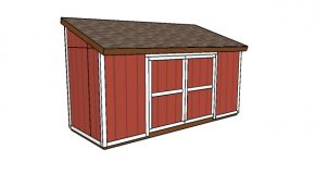 6×16 Lean to Shed Plans