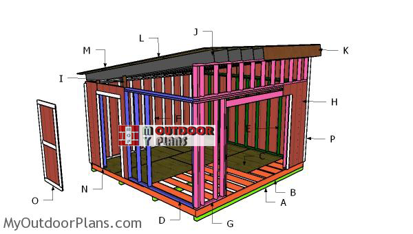 Building-a-14x14-lean-to-shed