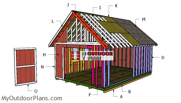 Building-a-14x20-gable-shed