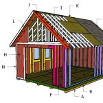 14×20 Gable Shed Roof Plans