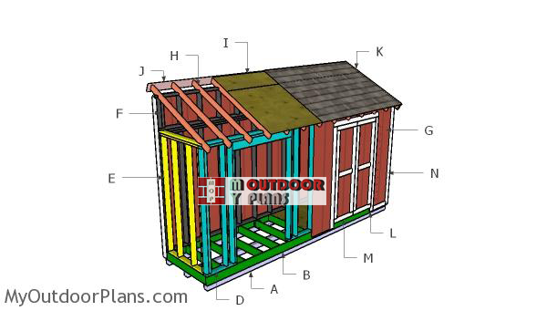 Building-a-4x16-shed
