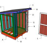 6×6 Lean to Shed Roof Plans