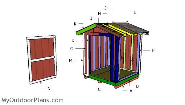 Building a 6x6 shed