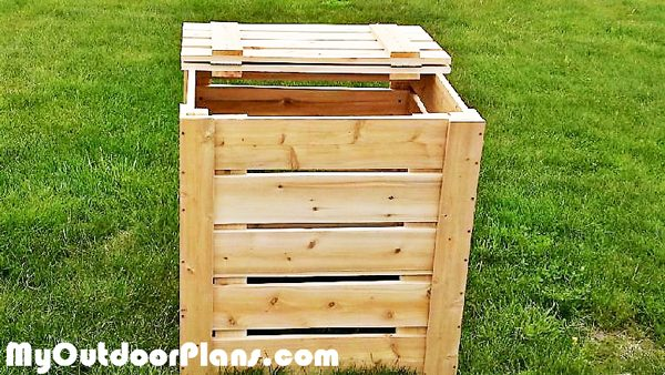 Building-a-compost-bin