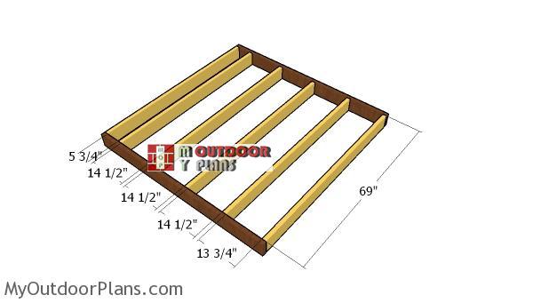 Building-a-floor-shed-frame