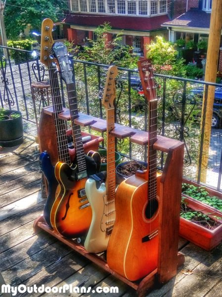 DIY Simple Guitar Stand | MyOutdoorPlans | Free ...