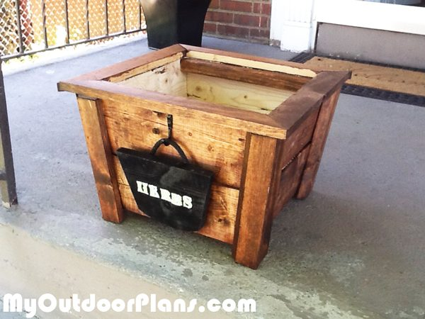 Building-a-herb-planter