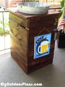 Building-an-gablvanized-ice-bucket-stand