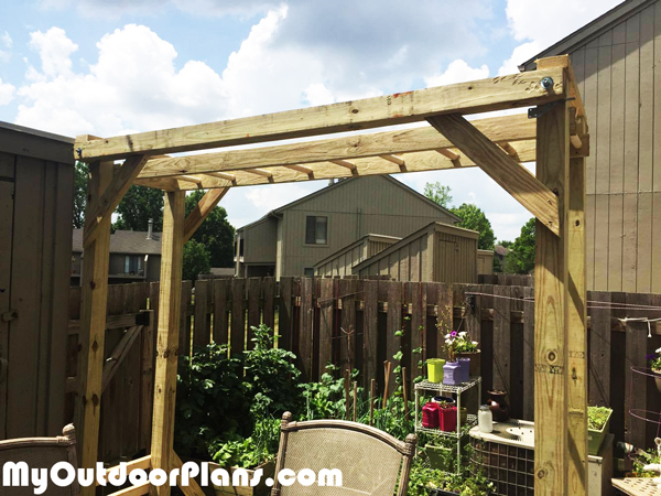 DIY Monkey Bars