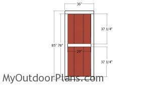 Building the man door