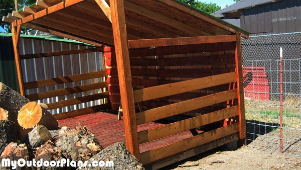 DIY 6×12 Wood Shed