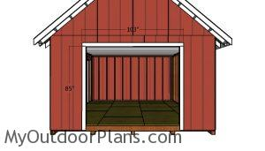 Double door jambs