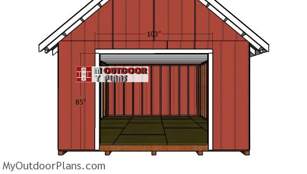 Double-doors-shed