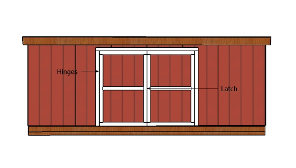 12x20 Shed Doors Plans